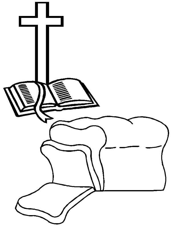 Bible-Bread-of-Life-Coloring-Pages